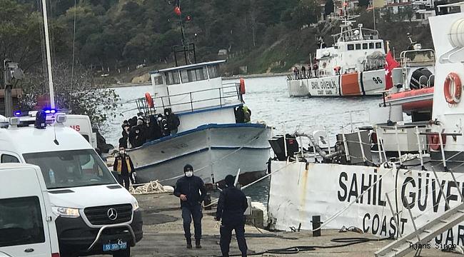 Sinop'ta Mülteci Operasyonu