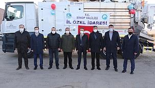 Sinop İl Özel İdaresi, Araç Filosunu Güçlendirmeye Devam Ediyor