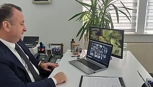 Video Konferans Aracılığıyla Görüştüler