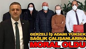 """SAĞLIK ÇALIŞANLARININ MORALİ """"YÜKSEK"""" OLDU"""
