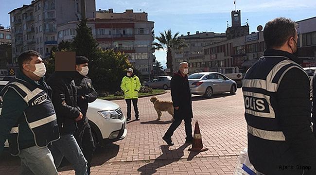 Sinop'ta Oto Hırsızlığı Operasyonu