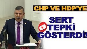 SERT TEPKİ GÖSTERDİ!
