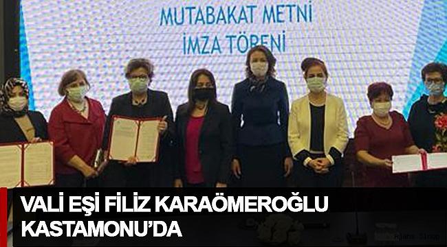 """Filiz Karaömeroğlu, """"Gücüm Emeğim Platformu"""" imza törenine katıldı!"""