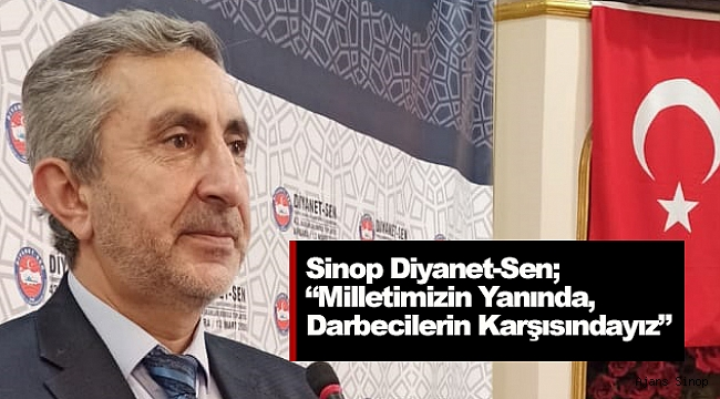Sinop Diyanet-Sen'den basın bildirisi!