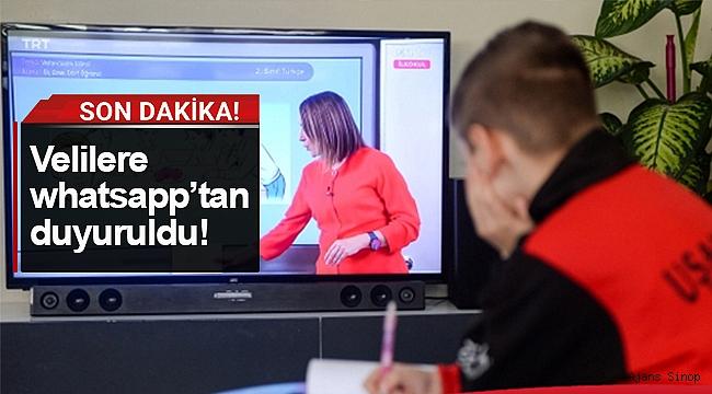 Sinop'ta bazı okul öncesi sınıflarda uzaktan eğitime geçildi!