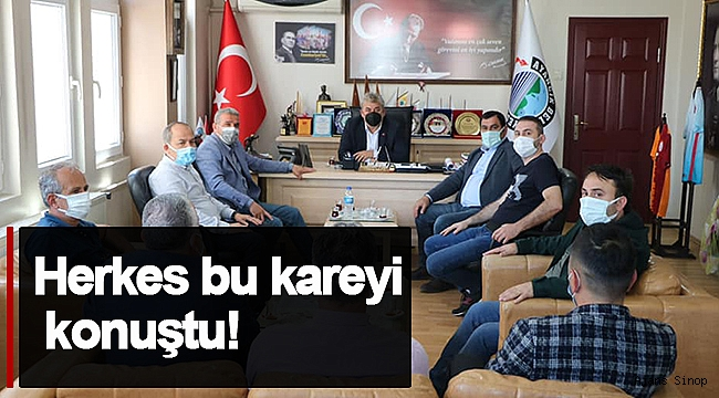 AK PARTİLİ BAŞKAN'DAN TAKDİR TOPLAYAN ZİYARET!