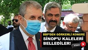 BBP'YE SİNOP'TA DİKKAT ÇEKEN İLGİ!