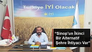 """BAŞKAN ŞANLAN: """"SİNOP'UN İKİNCİ BİR ALTERNATİF ŞEHRE İHTİYACI VAR"""""""