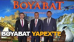ABAT ŞEHİR BOYABAT YAPEX'TE YERİNİ ALDI