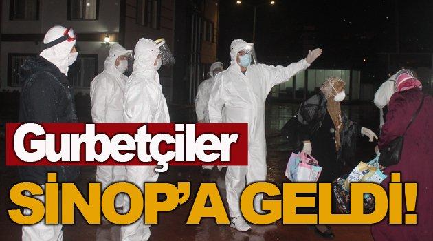 Gurbetçiler Sinop'a giriş yaptı!