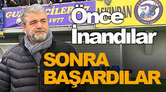 İstanbul SinopSpor Şampiyon Oldu!