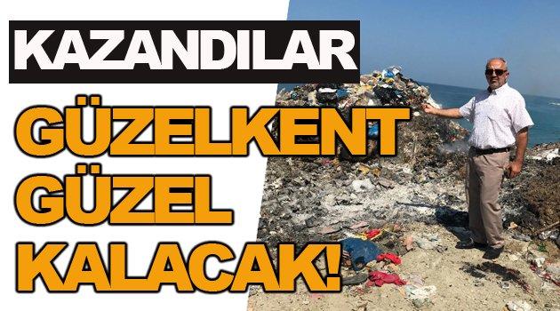 Köylünün mücadelesi sonuç verdi, çöp sorunu tarih oluyor!