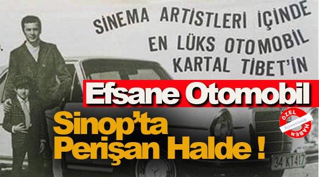 Efsane Otomobil Sinop'ta Perişan Halde !