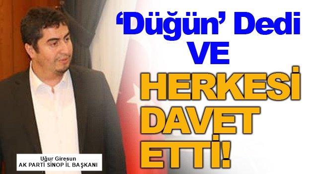 İl Başkanı Giresun'dan Kongre Açıklaması!