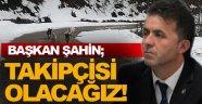 """Türkeli Belediye Başkanı Veysel Şahin; """"Bu konun Takipçisi Olacağız"""""""