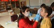 Boyabat'ta öğrencilere ağız ve diş sağlığı eğitimi