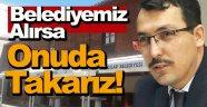 Müftü'den Belediye'ye Tente Zarfı !