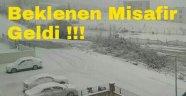 Sinop'ta Kar Yağışı Etkisini Gösterdi