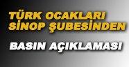 Türk Ocaklarından 15 Temmuz ile ilgili basın açıklaması
