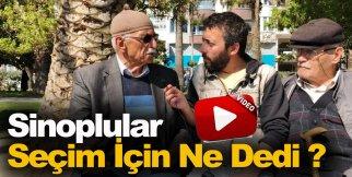 Sinoplular 24 Haziran Seçimleri İçin Ne Dedi? Cevabı Videoda !